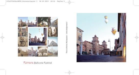 Ferrara 2-Biglietti con Busta
