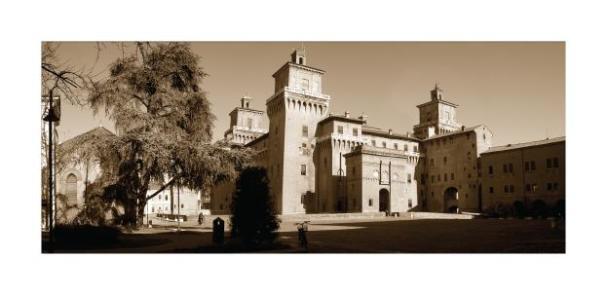 Cartolina- Ferrara Castello 3