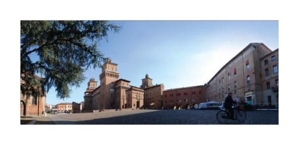 Cartolina- Ferrara Castello 1