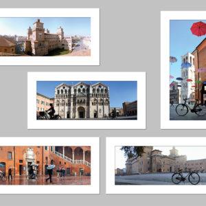 5 cartoline di Ferrara