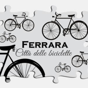 """Magneti di Ferrara """"Città delle biciclette"""""""