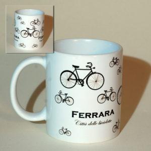 Tazza Ferrara Città delle Biciclette 1