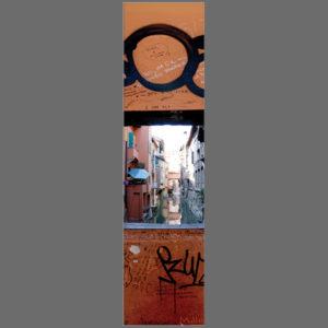 15×60 cm Bologna, Finestra sul canale
