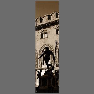 15×60 cm Bologna, Nettuno in verticale