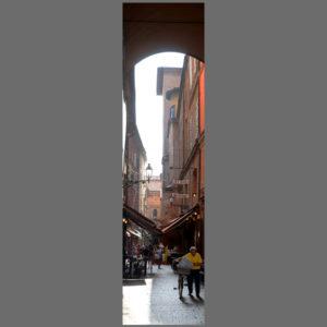 15×60 cm Bologna, scene di vita quotidiana