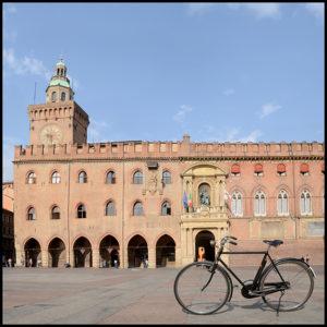 25×25 cm Bologna, Piazza maggiore
