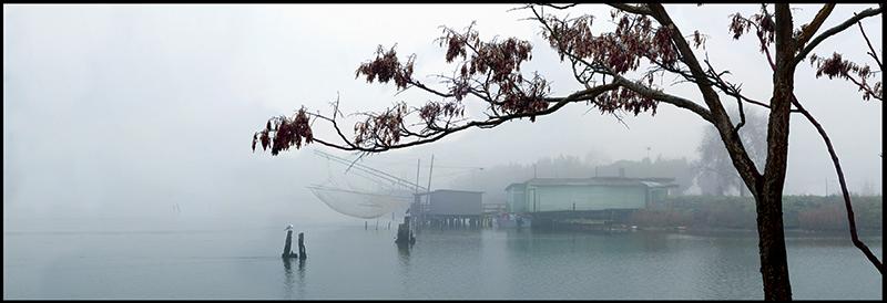 60×20 cm Bilancioni con nebbia.