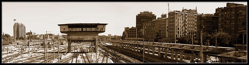 60×15 cm La stazione di Bologna