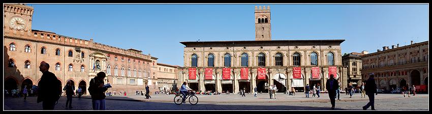 60×15 cm Panoramica sulla Piazza