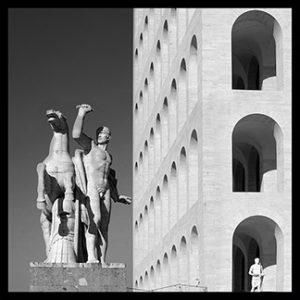 50×50 cm Roma EUR, Palazzo delle Esposizioni