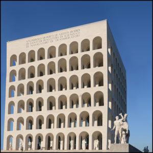 25×25 cm Colosseo quadrato.