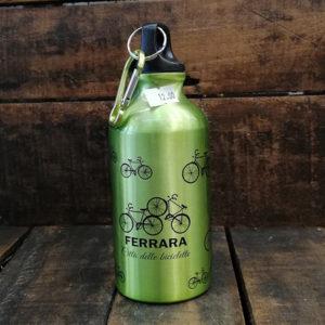 Borraccia 400 ml in alluminio, colore verde