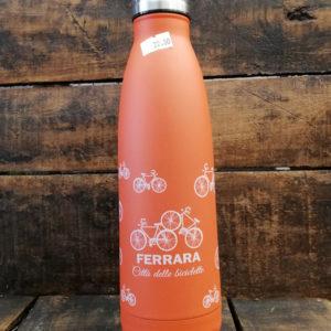 Thermos 500 ml. in acciaio inossidabile, colore arancione