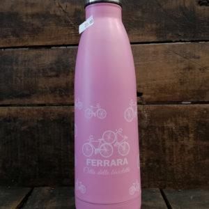 Thermos 500 ml. in acciaio inossidabile, colore rosa