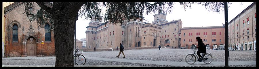 60×15 cm Panoramica del Castello 1.