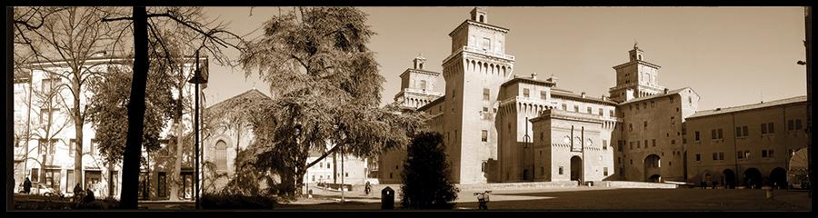 60×15 cm Panoramica del Castello 2.