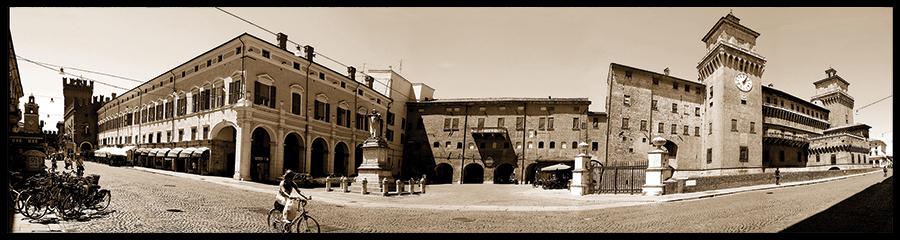 60×15 cm Panoramica del Castello 3.