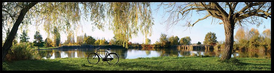 60×15 cm Panoramica del Parco Urbano.