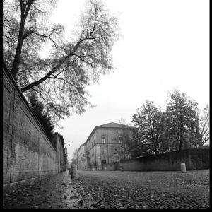 25×25 cm Scorcio di Corso Ercole I d'Este.