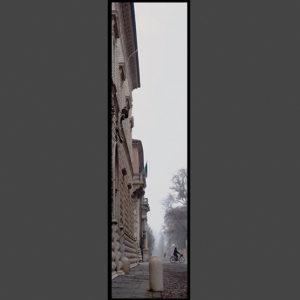 15×60 cm Nebbia a Palazzo dei Diamanti.
