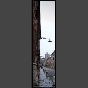 15×60 cm Scorcio di Corso Ercole I d'Este.