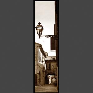 15×60 cm Via delle Volte virato seppia.