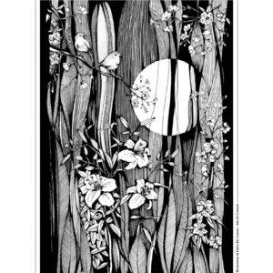 """""""Corteggiamento"""" Stampa 30×40 cm"""